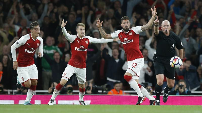 The victory ensured Arsene Wenger's side opened the English Premier League with a victory for only the second time in eight seasons.
