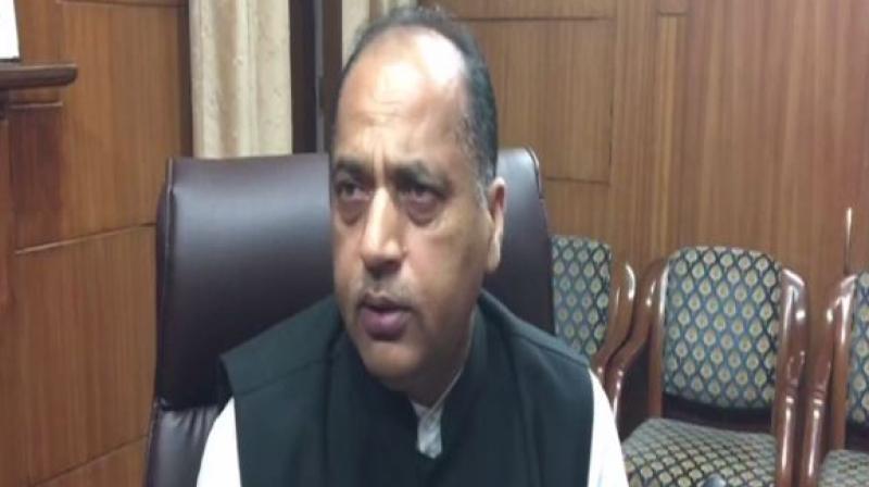 Himachal Pradesh Chief Minister Jai Ram Thakur. (Photo: ANI)