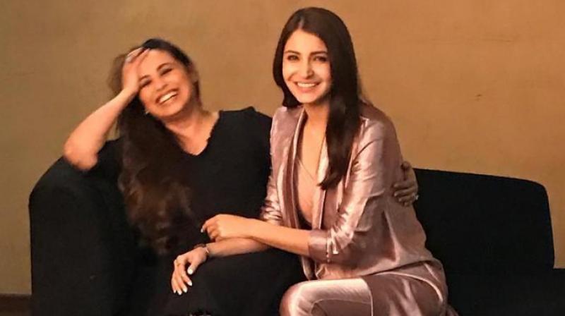 Rani Mukerji and Anushka Sharma.