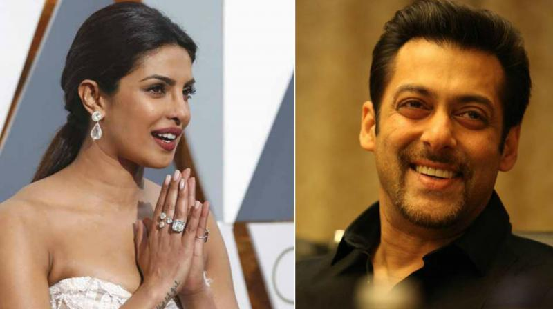 Salman, Priyanka make it to 500 Most Influential people in entertainment list