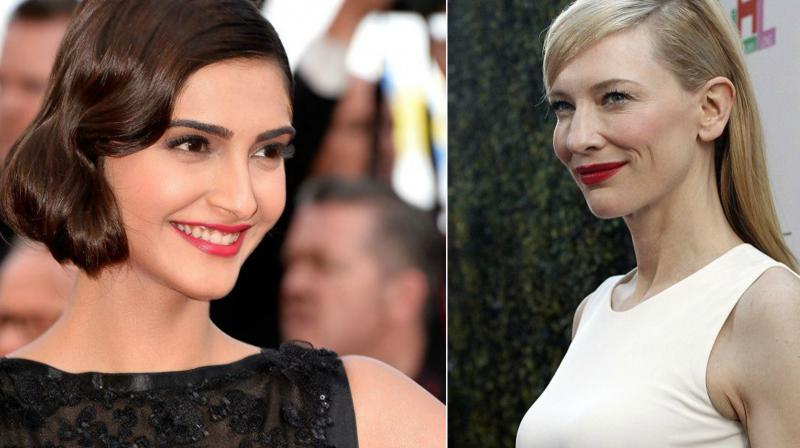 Sonam Kapoor to share stage with two-time Oscar victor  Cate Blanchett