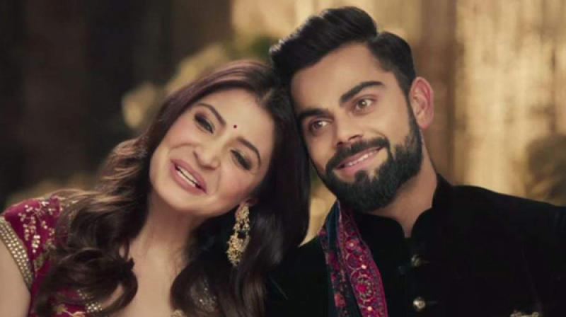 Virat Kohli and Anushka Sharma featured in the ad recently.