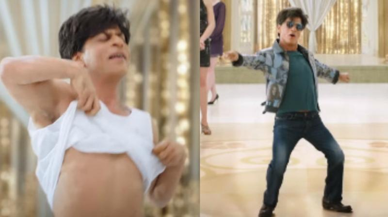Shah Rukh Khan in the title announcement of 'Zero.'