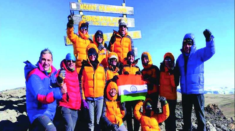 Adventure sports might appear fun and exciting, but the risk one takes to dare them are paramount. But seven girls from The Lawrence School, Sanawar, took on an exhilarating chance by conquering Africa's highest peak Mt Kilimanjaro and made India proud by becoming the youngest female trekkers from the country to achieve the feat.