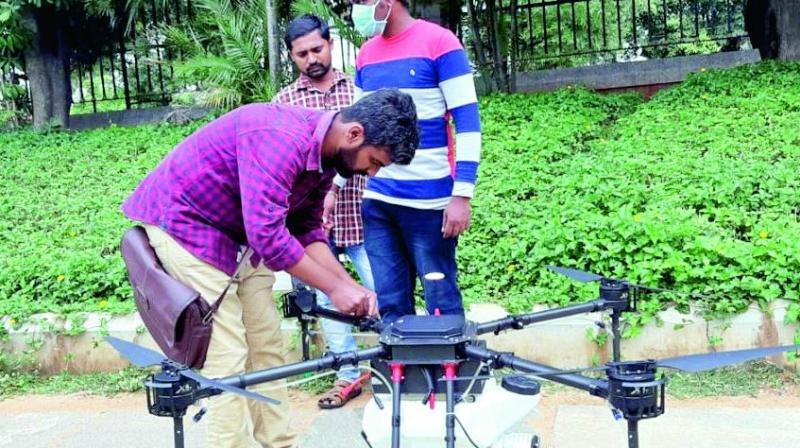 Marut Drones is the first indigenous drone to eradicate mosquitoes.
