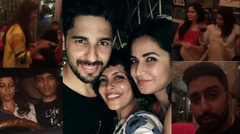 Shweta Bachchan Nanda threw a bash for her friends in Bollywood late Friday where some notable names were in attendance. (Photos: Viral Bhayani/ Instagram)