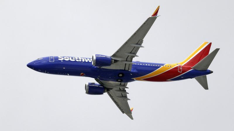 Southwest Airlines Co, American Airlines and United Airlines operate 34, 24 and 14 MAX jets respectively. (Photo:AP)