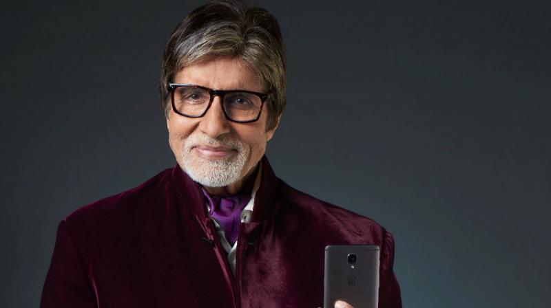 (Amitabh Bachchan in OnePlus ad)