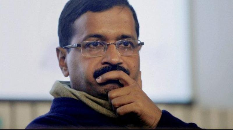 Aam Aadmi Party (AAP) to accuse BJP of hatching a conspiracy to kill Delhi Chief Minister Arvind Kejriwal. (Photo: File)