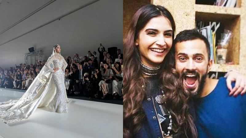 A picture of Sonam Kapoor shared by rumoured boyfriend Anand Ahuja on his Instagram account.