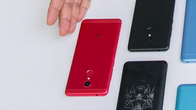 The Redmi 5 could have a last hurrah in the form of the red coloured variant.