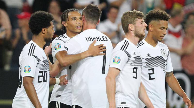 Reus' second goal, a superb free-kick from 20 metres, was Germany's first free kick goal since 2007. (Photo: AFP)