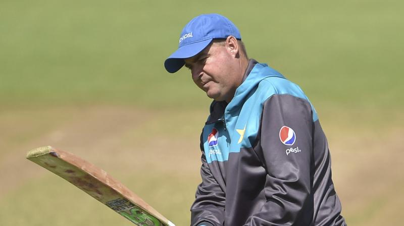 The Pakistan head coach, however, said that his side's unpredictability is their strong suit, adding that they have been trying hard to play much more consistent cricket and become a better team.(Photo: AP)