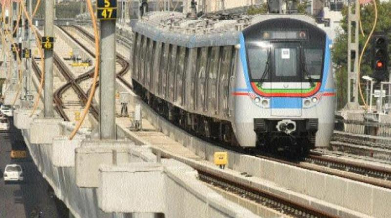 The L&T Metro Rail is carrying out all the finishing works from Paradise to Ameerpet station areas (Photo: Representational image)