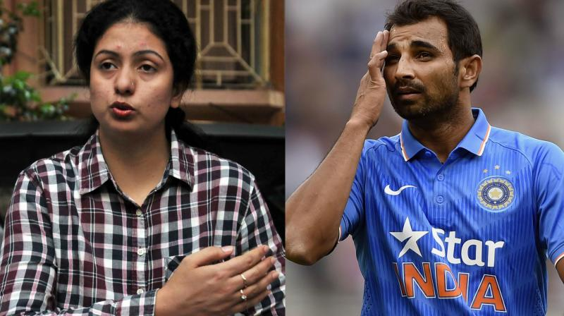 Indian pacer Mohammed Shami's estranged wife Hasin Jahan on Tuesday joined the Indian National Congress (INC). Mumbai Congress President Sanjay Nirupam welcomed Jahan into the party. (Photo: PTI / AP)