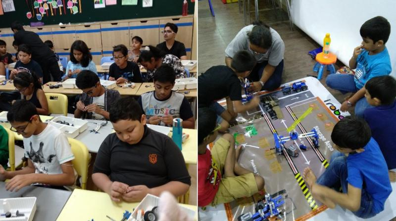 The camps are carefully designed with concept driven learning to ignite the interest and inquisitiveness in children towards innovations and problem solving skills, at the same time giving them a much needed early exposure to the world of STEM.