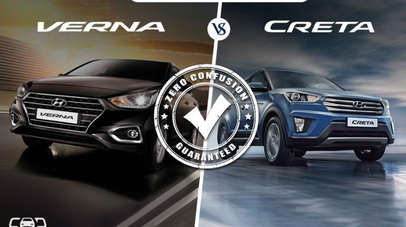Hyundai Verna Vs Hyundai Creta Which One To Buy