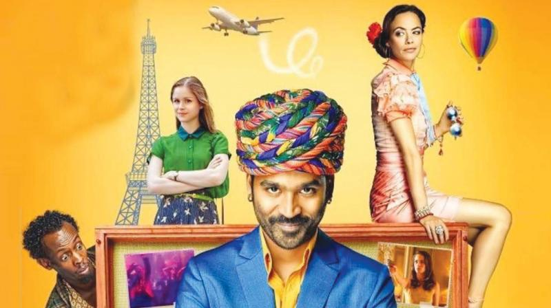 """What works for the film is Dhanush's unusual charm. As ordinary-looking but delightfully pleasant nevertheless, he is one star whose """"heroic"""" appeal is unconventional. And, he makes good use of it."""