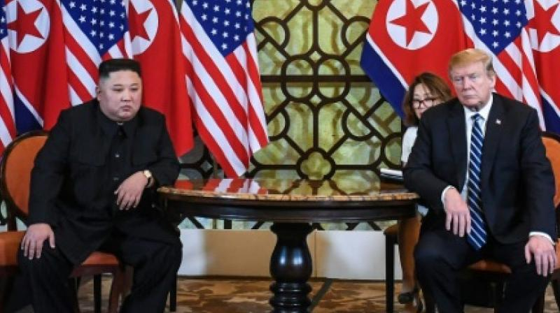 The signs of activity at North Korea's main nuclear site come after the Hanoi summit between leader Kimg Jong Un and US President Donald Trump ended abruptly without agreement on Pyongyang's nuclear programme. (Photo: AFP)