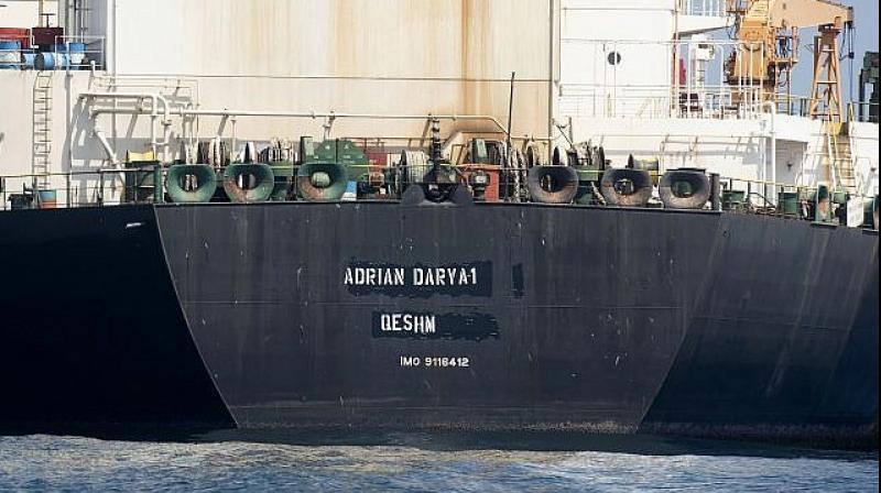 Adrian Darya 1 tanker was held by British overseas territory of Gibraltar for 6 weeks. (Photo: AP)