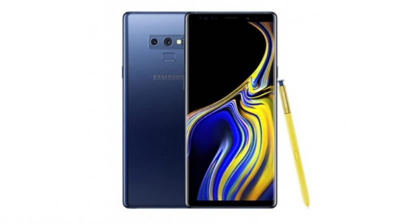 (Representational image/ Photo: Samsung Galaxy Note 9)