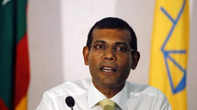 Mohamed Nasheed, whose Maldivian Democratic Party functions from Colombo, asked for India's help. (Photo: AP)