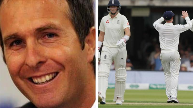 Michael Vaughan was heavily trolled after the netizens recalled Vaughan's tweet stating India's dismal performance versus New Zealand on January 31, 2019. (Photo:AP/AFP)