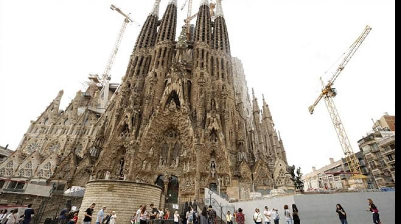 In a quirk of history, authorities only discovered in 2016 that the building that draws millions of visitors every year had never had planning permission since construction began in 1882. (Photo: AFP)