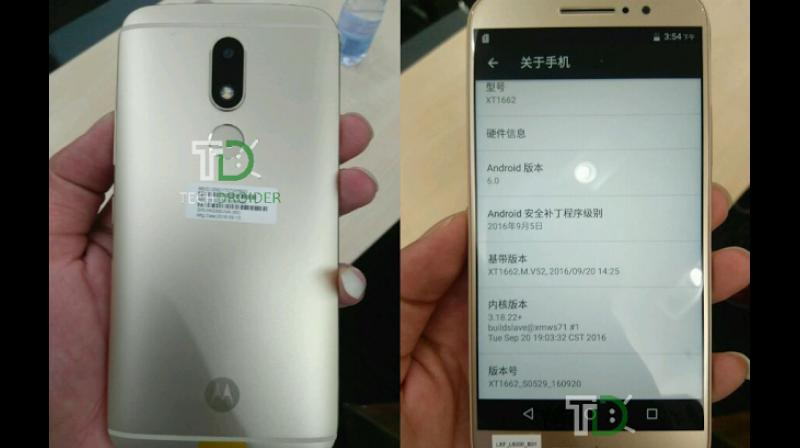 Moto M will be first Moto smartphone to sport rear-facing fingerprint sensor. (Photo: Techdroider)