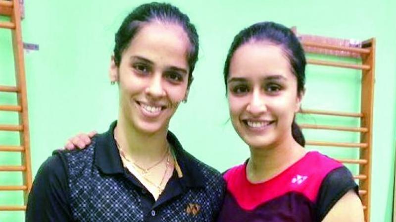 Saina Nehwal and Shraddha Kapoor
