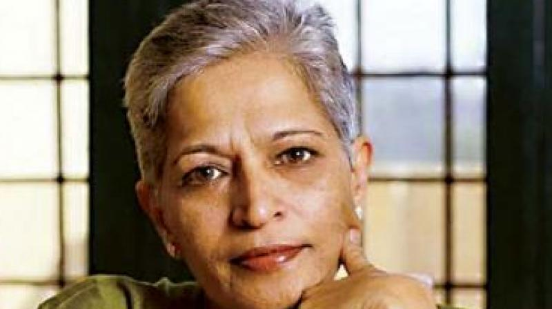 Slain journalist-activist Gauri Lankesh. (Photo: DC)
