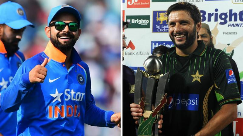 Team India showed a great gesture, after Shahid Afridi announced his retirement from international cricket. (Photo:AFP)