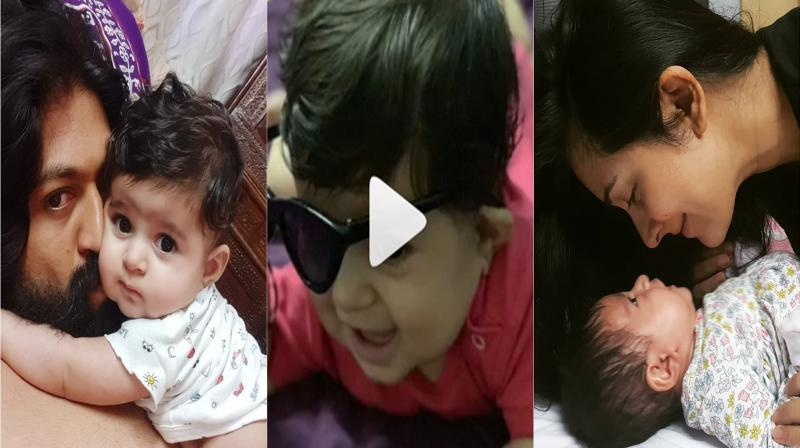 Yash and Radhika Pandit announce their second pregnancy. (Photo: Instagram)