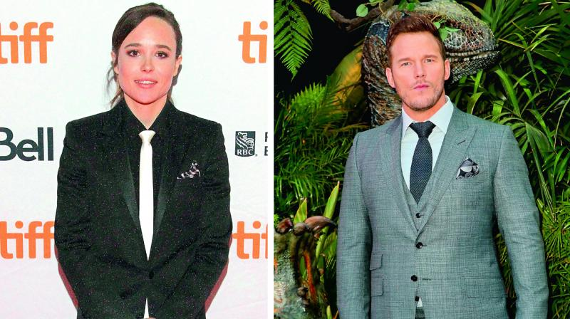 Ellen Page; Chris Pratt