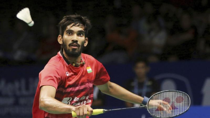 Srikanth had made eight quarterfinal finishes in last nine tournaments and the Indian didn't look to make the last eight after he lost the opening game narrowly and lagged 1-7 in the second. (Photo: PTI / File)