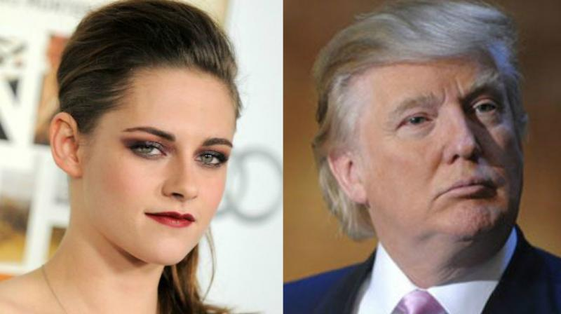 Like Kristen Stewart, several other celebrities have expressed their views on Trump. (Photos: AP)