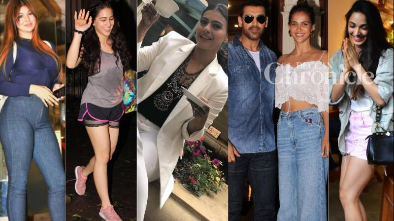 Bollywood celebrities went about their professional and personal commitments in Mumbai on Friday and were snapped by the cameras. (Photos: Viral Bhayani)