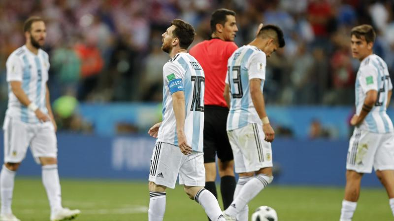 84f292fa6 Argentina has just one point from two games and will certainly have to beat  Nigeria in