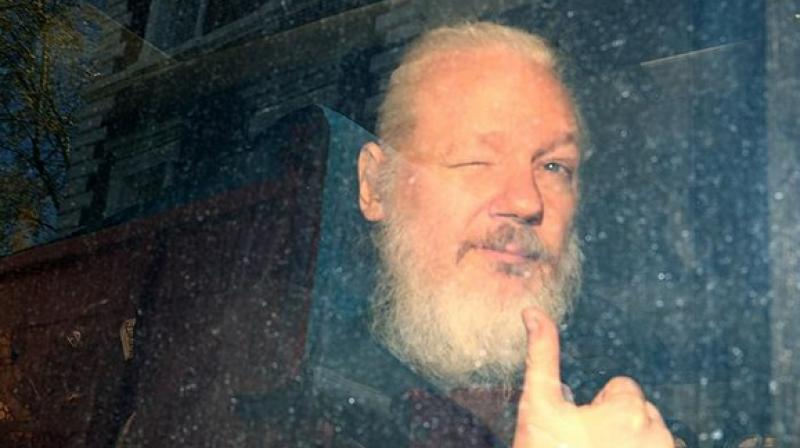 Assange is currently serving 50 weeks imprisonment sentence in UK's Belmarsh prison for skipping bail to avoid being sent to Sweden over sexual assault allegations. The Australian whistleblower has denied the allegations against him, asserting that they were politically motivated. (Photo: ANI)