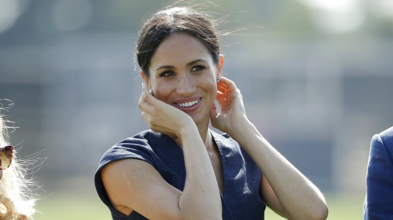 The Duchess of Sussex when on to write that she wishes for 'more surprises', 'more opportunities to grow' in her now-deleted website. (Photo: AP)