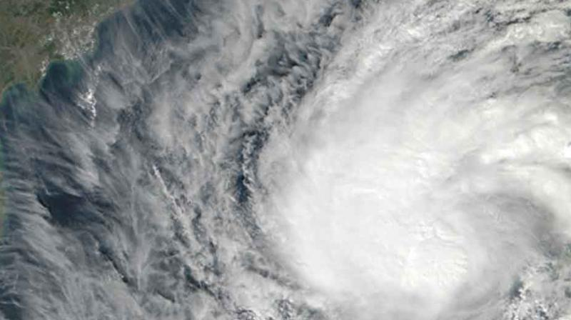 Severe Tropical Cyclone Gita is intensifying as it approaches and the Fiji Meteorological Service predicted it will become a maximum category five storm before reaching Tonga on Monday night. (Photo: Representational   AFP)