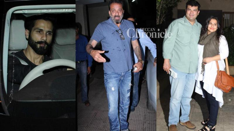 Several Bollywood stars were present for writer Rumi Jaffrey's bash held in Mumbai late Monday. (Photo: Viral Bhayani)