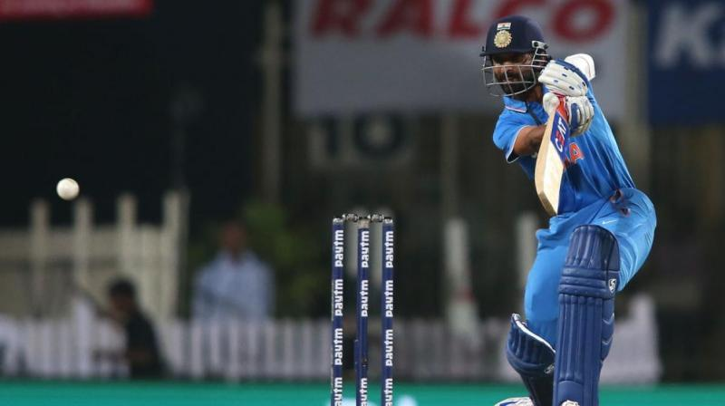 Ajinkya Rahane scored 284 runs last year at an average of 35.50 in eight ODI innings. In 72 ODIs overall, Rahane boasts an ODI average of 32.88 and a strike-rate of less than 78.98. (Photo: BCCI)