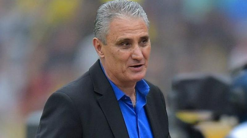 """""""My contract is until 2022 and I'll be faithful to it,"""" said Tite on Saturday. (Photo AFP)"""