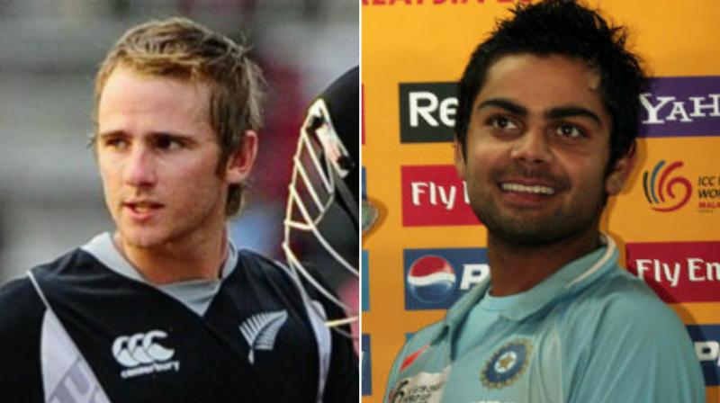 The skippers of both teams led their under-19 squads to face each other in 2008, over a decade ago (Photo: AFP)