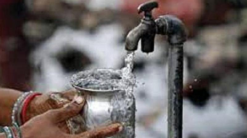 Most of the households depending on groundwater for needs are getting muddy water because of drop in groundwater levels in Nellore city. (Representational Images)