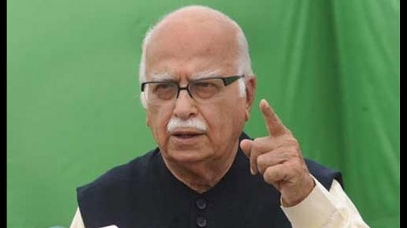 Describing this as a moment of 'fulfilment' for him, Advani, 92, said 'God Almighty' had given him an opportunity to make his own humble contribution to the mass movement, which he termed as the biggest since India's Freedom Movement. (Photo: File)