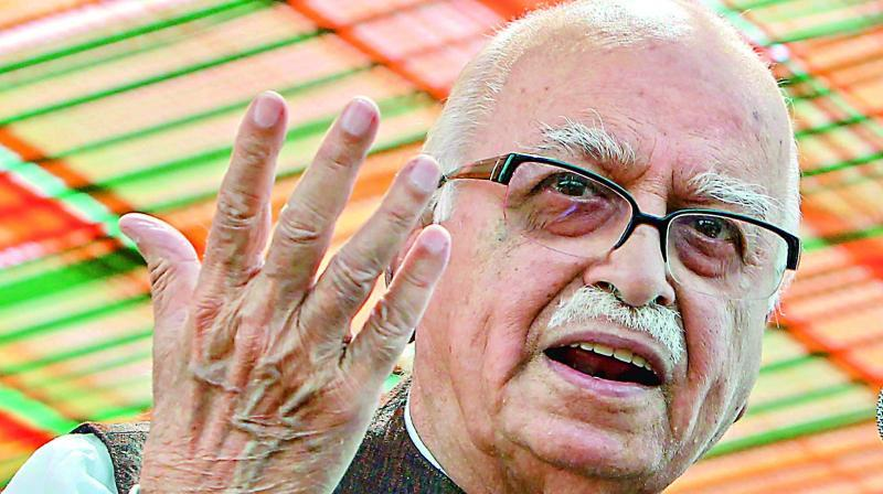 Though Advani's arrest brought an abrupt end to his hugely successful rath yatra, it triggered massive protests and communal riots across several towns and cities, especially in north India. (Photo: File | ANI)