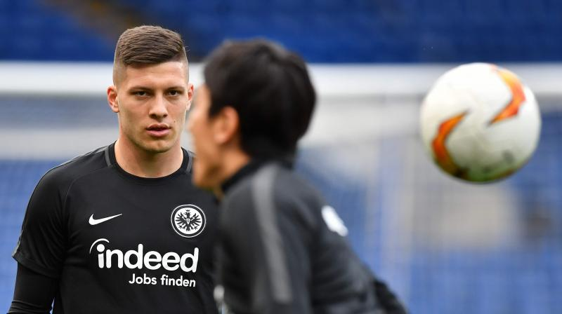 Jovic, who has made 13 appearances for Serbia, is expected to be the first of several high-profile players to join Real Madrid as the deposed European champions look to respond to a disappointing campaign on all fronts. (Photo: AFP)