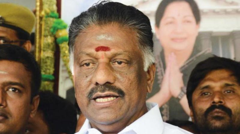DMK MP R S Bharathi further submitted that Panneerselvam had made false declarations before the Income Tax authorities and election officials.(Photo: File)